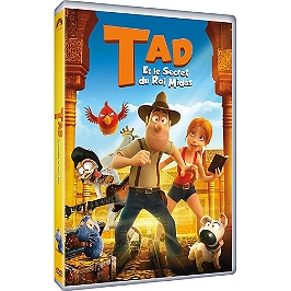 Tad et le secret du roi Midas, Dvd