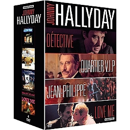 Coffret Johnny Hallyday 4 films, Dvd