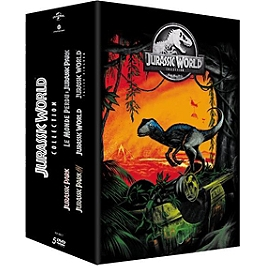 Coffret Jurassic World collection 5 films, Dvd