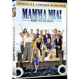 Mamma mia 2 : here we go again, Dvd