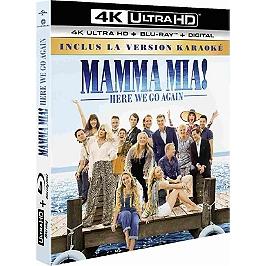 Mamma mia ! 2 : here we go again, Blu-ray 4K