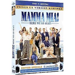 Mamma mia 2 : here we go again, édition limitée spéciale E. Leclerc, Dvd