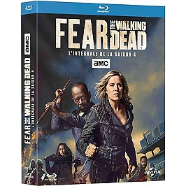 Coffret fear the walking dead, saison 4, Blu-ray