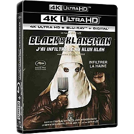 Blackkklansman - j'ai infiltré le Ku Klux Klan, Blu-ray 4K