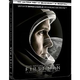 First man - le premier homme sur la Lune, Steelbook, Blu-ray 4K