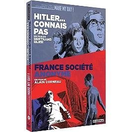 Coffret 2 films : France société anonyme ; Hitler... connais pas, Blu-ray