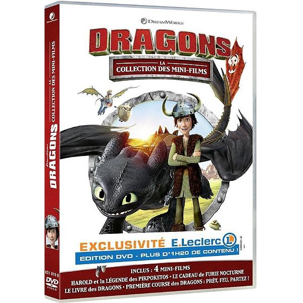 Dvd Dragons La Collection Des Mini Films édition Exclusive E