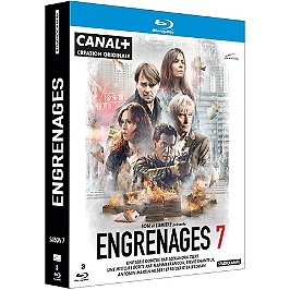Coffret engrenages, saison 7, Blu-ray