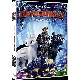 Dragons 3 : le monde caché, Dvd