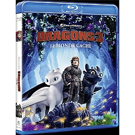 Dragons 3 : le monde caché, Blu-ray