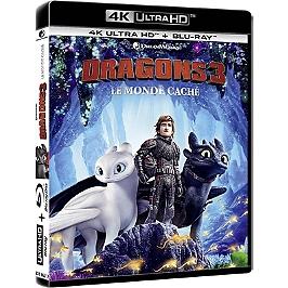 Dragons 3 : le monde caché, Blu-ray 4K