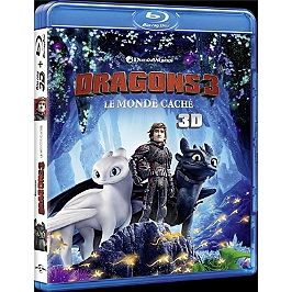 Dragons 3 : le monde caché, Blu-ray 3D