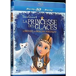 La princesse des glaces : le monde des miroirs magiques, Blu-ray 3D