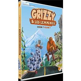 Grizzy et les lemmings, saison 1, vol. 1, Dvd