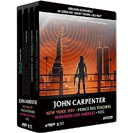 Coffret John Carpenter 4 films, Blu-ray 4K