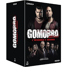 Coffret Gomorra, saisons 1 à 4, Dvd