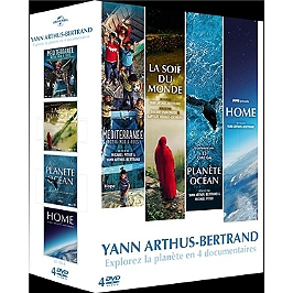 Coffret Yann Arthus-Bertrand 4 films, Dvd