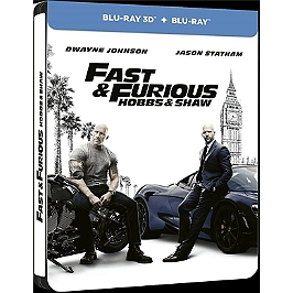 Fast and furious presents : Hobbs and Shaw, Blu-ray 3D