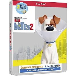 Comme des bêtes 2 steelbook, édition spéciale E. Leclerc, Blu-ray