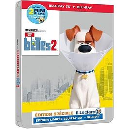 Comme des bêtes 2 steelbook, édition spéciale E. Leclerc, Blu-ray 3D
