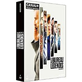 Coffret le bureau des légendes, saison 5, 10 épisodes, Dvd
