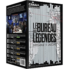 Coffret le bureau des légendes, saisons 1 à 5, 50 épisodes, Dvd