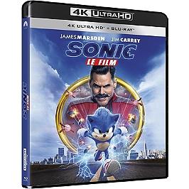 Sonic le film, Blu-ray 4K