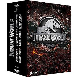 Jurassic Park 1 à 5, Dvd