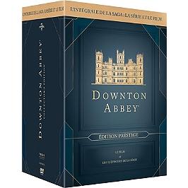 Coffret Downton Abbey : l'intégrale de la série, saisons 1 à 6 + le film, édition prestige, Dvd