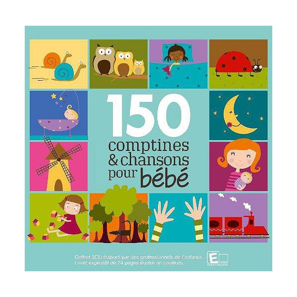 150 Comptines Chansons Pour Bébé
