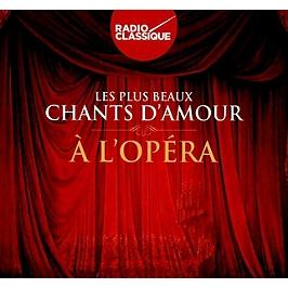 Les plus beaux chants d'amour opéra, CD Digipack