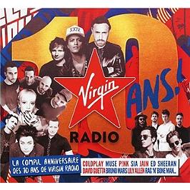 Virgin radio les 10 ans, CD + Box