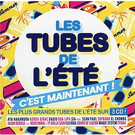 Les tubes de l'été, c'est maintenant !, CD + Box