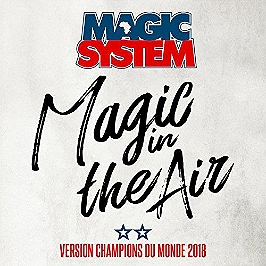 Magic in the air (feat Ahmed Chawki), CD Single
