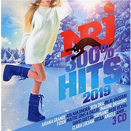 NRJ 300% hits 2019, CD + Box