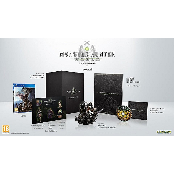 Monster hunter world - édition collector (PS4) sur playstation 4 ...