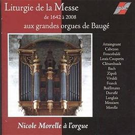 Liturgie de la messe de 1642 à 2008, CD
