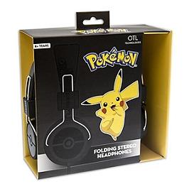 Casque Pokémon Pokéball (noir) (SWITCH)