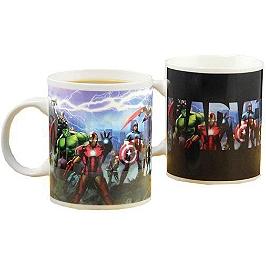 Mug thermosensible Avengers