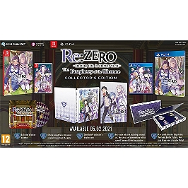 Re: Zero - The Prophecy of the Throne - édition collector (SWITCH)