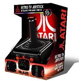 Atari TV Plug & Play AV Joystick + Atari pack de 50 jeux