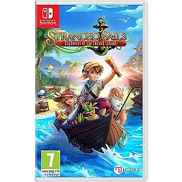 Stranded sails explorers of the cursed islands (SWITCH)