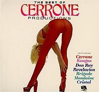 The best of Cerrone productions de Cerrone en CD Digipack