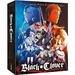 Coffret black clover, saison 1, vol. 1, édition collector, Blu-ray