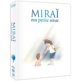 Miraï, ma petite soeur, édition collector, Blu-ray