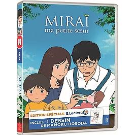 Miraï, ma petite soeur - inclus : un dessin de Mamoru Hosoda, édition spéciale E. Leclerc, Dvd