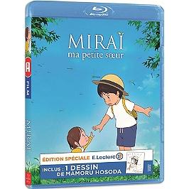 Miraï, ma petite soeur - inclus : un dessin de Mamoru Hosoda, édition spéciale E. Leclerc, Blu-ray