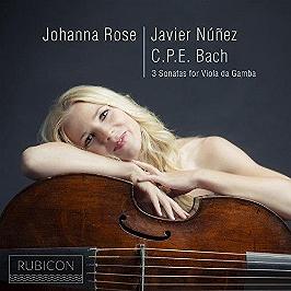 3 sonatas for viola da gamba, CD