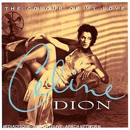 Colour Of My Love, CD