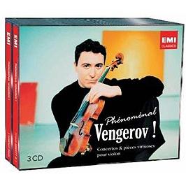 Phénoménal Vengerov !, CD